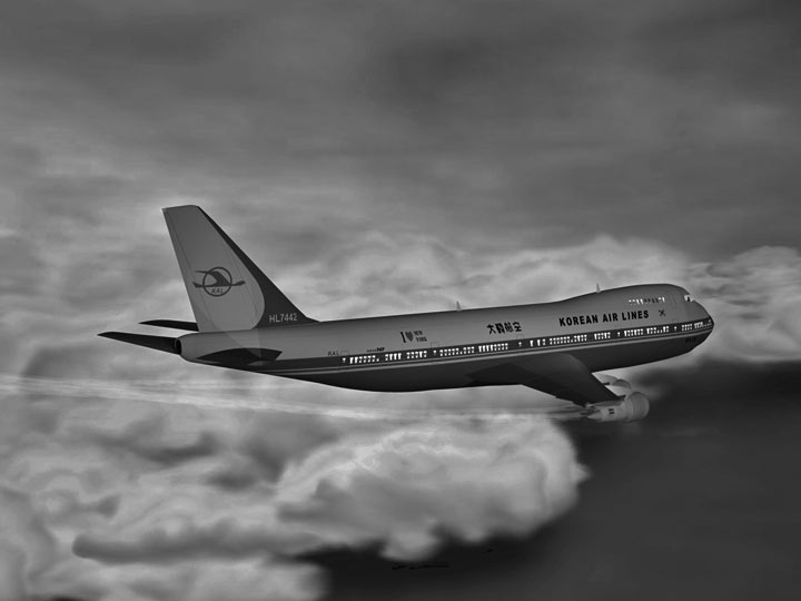 Korean Airlines 007 shot down by soviets