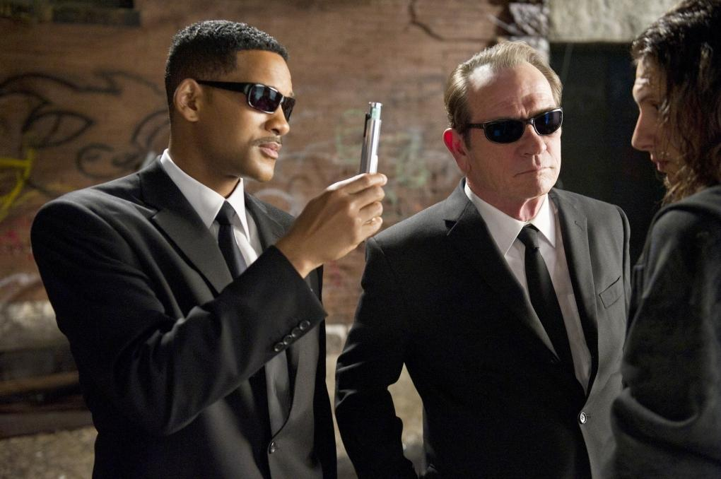 "Image extraite du film ""Men in Black"""