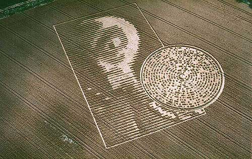 Crop circle alien extraterrestre