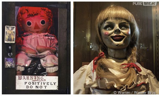 Annabelle histoire vraie